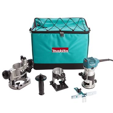 "Makita RT0700CX2 710 Watt 1/4"" Router/Trimmer"