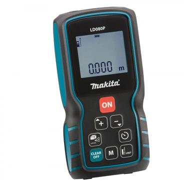 Makita LD080P 80m Laser Distance Measurer