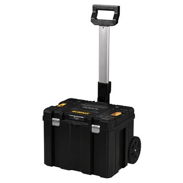 DeWALT 512 x 435 x 1000mm T-Stak Mobile Storage Box with Long Handle - DWST1-75799