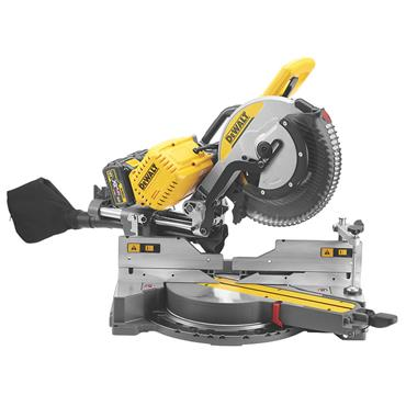 DeWALT DHS780T2 54 Volt 305mm Mitre Saw, 2 x 6.0Ah Batteries