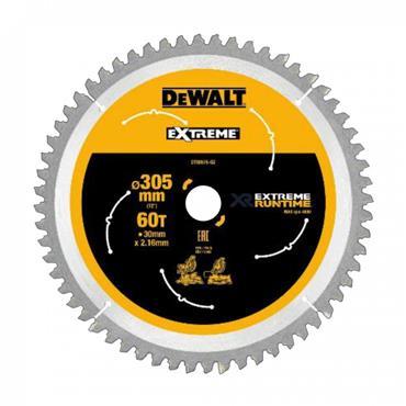 DeWALT 305 x 30 x 60T, Extreme Circular Saw Blade - DT99575-QZ
