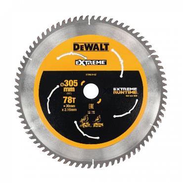 DeWALT 305 x 30 x 78T, Extreme Circular Saw Blade - DT99576-QZ