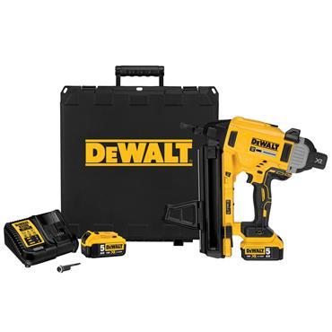 DeWALT DCN890P2 18 Volt XR Brushless Concrete Nailer, 2 x 5.0Ah Batteries