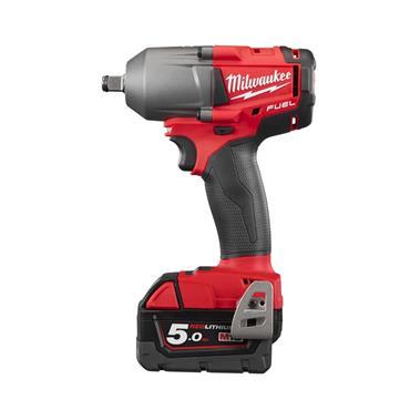 """Milwaukee M18 FMTIWF12-502X 18 Volt 1/2"""" Torque Impact Wrench, 2 x 5.0Ah Batteries"""