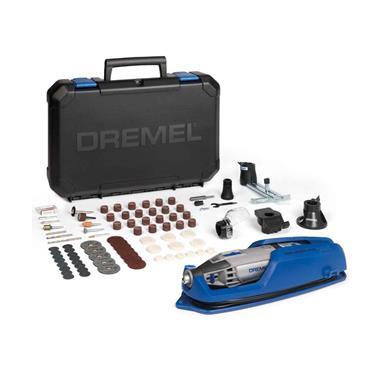 Dremel 4000-4/65 7 Piece Drill Bit Set & Multi-Chuck, F0134000LU, 240volt