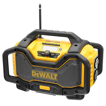 DeWALT DCR027 18 Volt - 54 Volt XR FlexVolt Bluetooth Radio Charger, Body Only