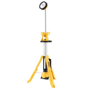 DeWALT DCL079-XJ 18 Volt XR LED Tripod Light Body Only