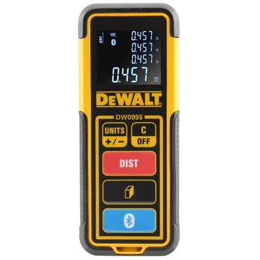 DeWALT DW099S-XJ 30m Bluetooth Line Distance Measure