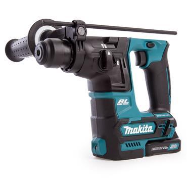 Makita HR166DSAE1 65 Piece 10.8 Volt CXT Cordless SDS-Plus Rotary Hammer, 2 x 2.0Ah Batteries