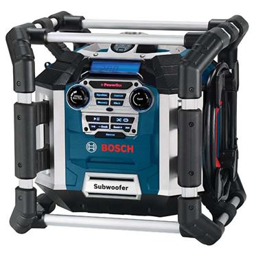 Bosch BGML50 240 Volt Professional Powerbox 360 Jobsite Radio and Battery Charger