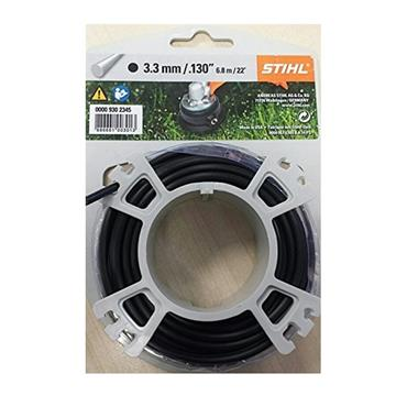Stihl 00009302345 6.8m Carded Line Black