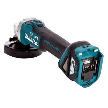 Makita DGA463Z 18 Volt BL LXT Cordless Angle Grinder Body Only