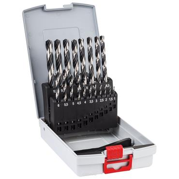 Bosch 2608577351 19 Piece Metal PointTeQ Twist Drill Bit Set