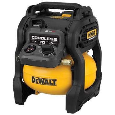 DeWALT DCC1054T2 10 Litre 54 Volt XR Flexvolt Air Compressor, 2 x 6.0Ah Batteries