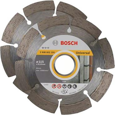 Bosch 115 x 22.23mm Universal Diamond Blade Twinpack - 06159975S9