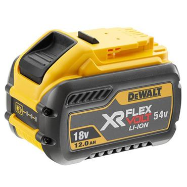 DeWALT DCB548-XJ 18 and 54 Volt Cordless XR Flexvolt Li-Ion Battery, 1 x 12Ah Batteries
