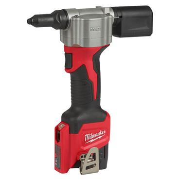 Milwaukee M12 BPRT-201X 12 Volt Sub Compact Rivet Tool, 1 x 2.0Ah Batteries