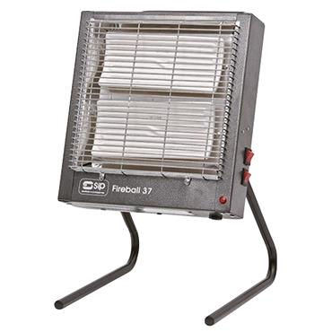 Sip 09222 240 Volt Fireball 37E Electric Ceramic Heater, 2.8kW