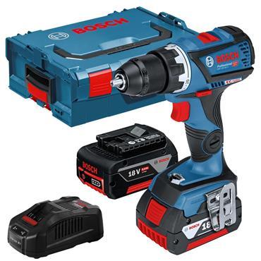 Bosch GSR 18V-60 C 18 Volt Brushless Drill Driver, 2 x 5.0Ah Batteries