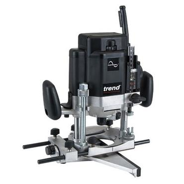 "Trend T10ELK 2000w 1/2"" Variable Speed Tradesman Router"