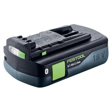 Festool 203799 18 Volt Lithium-Ion Bluetooth Battery Pack, 1 x 3.1Ah Batteries