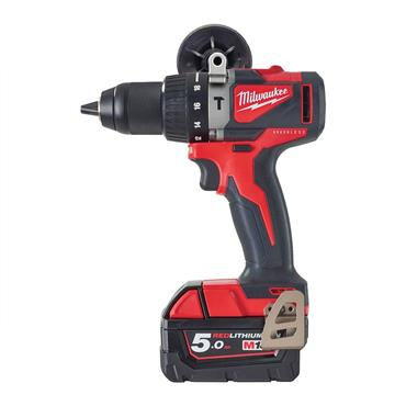 Milwaukee M18BLPD2-502X M18 Compact Brushless Percussion Drill