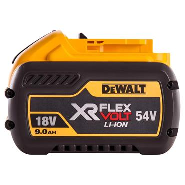 DeWALT DCB547-XJ 18/54 Volt XR Flexvolt Convertible Battery Pack, 1 x 9.0/3.0Ah Batteries
