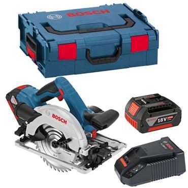 Bosch GKS18V-57G 18 Volt Professional Circular Saw, 2 x 5.0Ah Batteries
