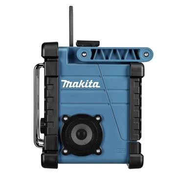 Makita DMR107 7.2 - 18 Volt AM/FM Job Site Radio - Blue