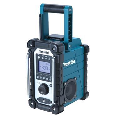 Makita DMR107 7.2 - 18 Volt AM/FM Job Site Radio - Blue