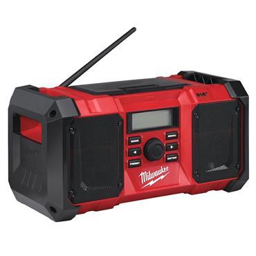 Milwaukee M18JSRDAB-0 18 Volt Cordless Digital Jobsite Radio Body Only