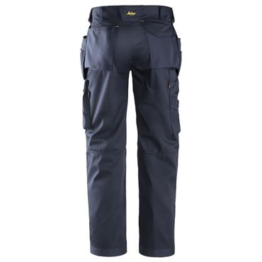Snickers 3211 CoolTwill Craftsmen Holster Pocket Trousers - Navy