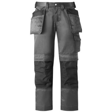 Snickers 3272 DuraTwill Holster Pocket Women's Trousers - Grey/Black