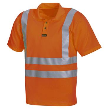 Blaklader 3311 High-Visibility Polo Shirt - Orange