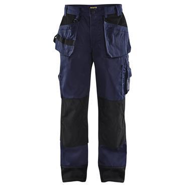 Blaklader 1503 Nail Pocket Trousers - Navy Blue/Black