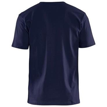 Blaklader 3300 Cotton T-Shirt - Navy Blue
