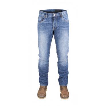 Snickers P50 Dunderdon Stonewash Denim Jeans - Blue