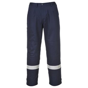 CITEC FR26L36 High-Visibility Bizflame Plus Trousers - Navy