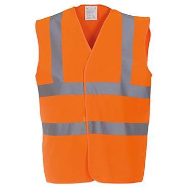 BTC Activewear HVW100 Yoko High-Visibility Waistcoat