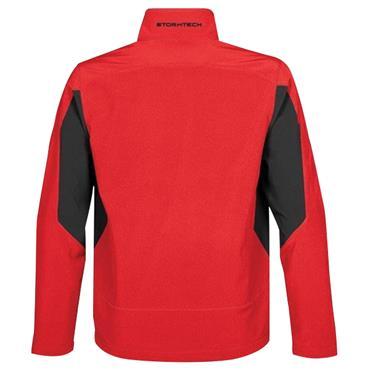 BTC Activewear SDX-1 Men's Pulse Softshell Jacket - True Red/Black