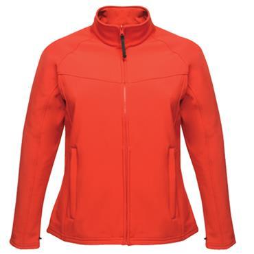 Regatta TRA645 Uproar Inter Active Soft Shell Women's Jacket - Red