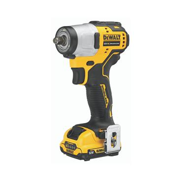 "DeWALT DCF902D2 12 Volt XR Brushless 3/8"" Compact Impact Wrench, 2 x 2.0Ah Batteries"