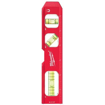 "Milwaukee 48225107 7"" Compact Billet Torpedo Level"