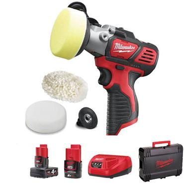 Milwaukee M12BPS-421X M12 Sub Compact Polisher/Sander
