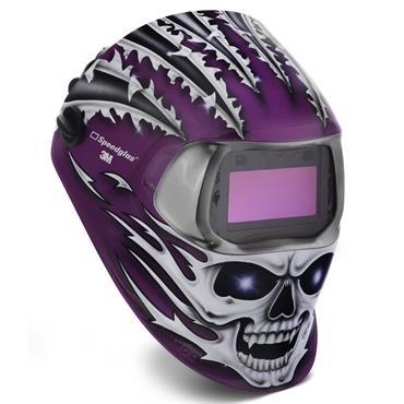 3M 752620 Speedglas 100 Raging Skull Welding Helmet