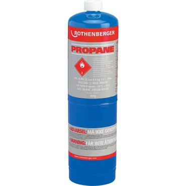 ROTHENBERGER 3.5535 Disposable Propane Gas Cylinder 400g