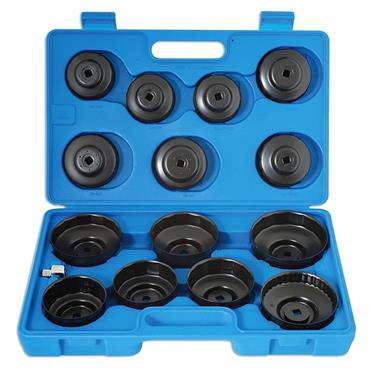 Laser 3222 15 Piece Oil Filter Wrench Set