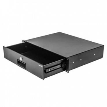 CITEC 401460 Navepoint 2U Rack Mount Drawer - Black