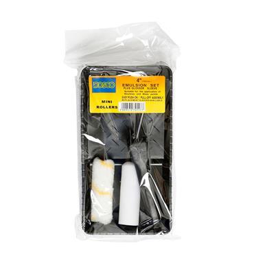 """Dosco 4"""" /100mm Emulsion Set & Glosser Sleeve"""