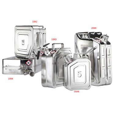 ROTZMEIER Stainless Steel Safety Containers